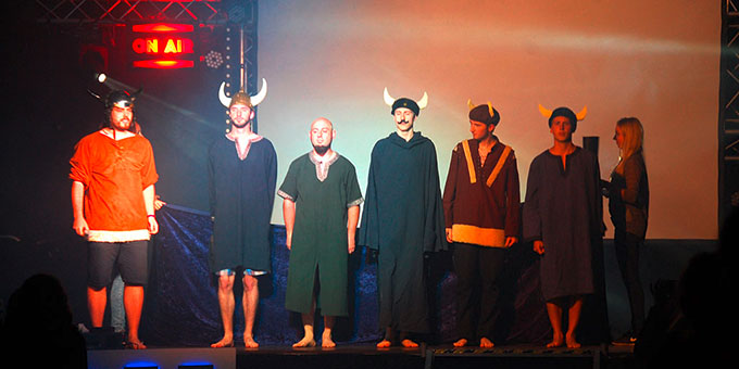 The Vikings bei der NdH PrimeTime (Foto: Brehm)