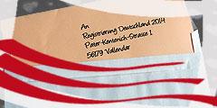 Kontakt zum Registrierungsbüro Deutschland 2014 (Foto: Brehm)