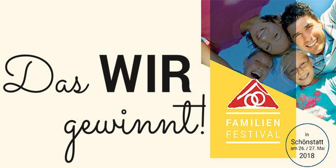 Familienfestival in Schönstatt Ende Mai