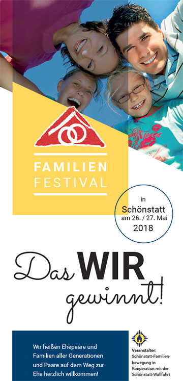 Cover Flyer Familienfestival 2018