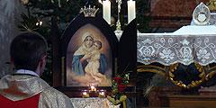 Bergatreute: Die Gottesmutter verbindet die Menschen mit ihrem Sohn (Foto: Rudolf und Maria Pfeifer )