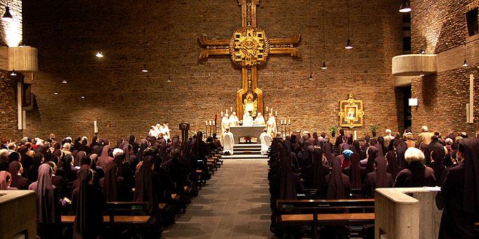 Dankgottesdienst in der Anbetungskirche Berg Schönstatt (Foto: Brehm)