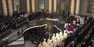 Dankgottesdienst in der Berliner Hedwigs-Kathedrale (Foto: TV)