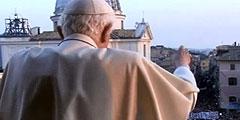 Papst Benedikt: Abschied in Castel Gandolfo (Foto: TV)