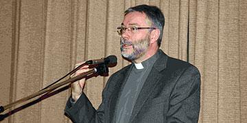 Vortrag: Pfarrer Lukas Wehrle, Oberkirch (Foto: Vallendor)