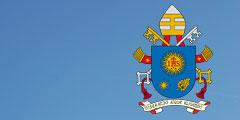 Wappen des Heiligen Vaters Papst Franziskus (Grafik: wikipedia)