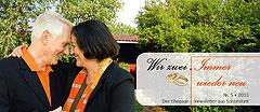 """Der neue Ehepaar-Newsletter """"Wir zwei - Immer wieder neu"""" ist erschienen  (Fotos: © Patrizia Tilly - Fotolia.com; Brehm)"""