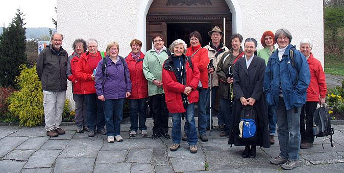 Ausgangspunkt und Ziel: Das Schönstatt-Heiligtum in Aulendorf (Foto: Zembrot)