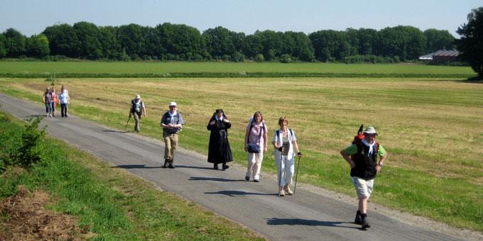 Pilgern - die Seele geht zu Fuß (Foto: Gehling)