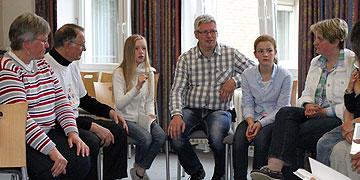 Familien-Gesprächsrunde (Foto: Jestädt)
