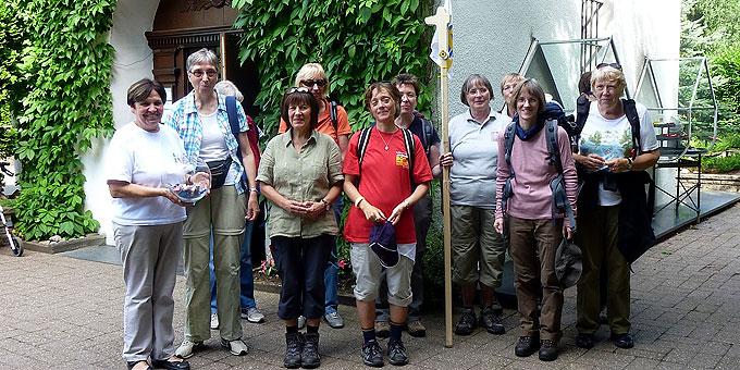 Eine Woche Pilgererfahrung zum Urheiligtum in Schönstatt (Foto: AUTOR)