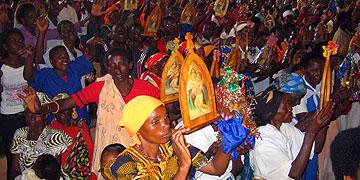 Auch aus Burundi, wo es viele Kreise der Pilgernden Gottesmutter gibt, würden Vertreter gerne zum Jubiläum 2014 kommen (Foto: Projekt Pilgerheiligtum)