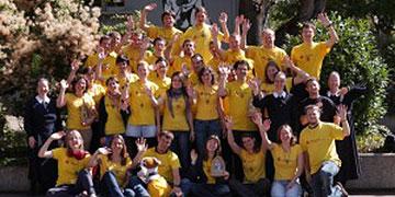 Die Gruppe der Misioneros im Jahr 2012 (Foto: misiones-glauben-leben.de)