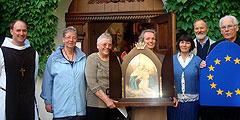 """Aussendung der """"Königin der Neuevangelisierung Europas"""" vom Urheiligtum in die Diözese Limburg (Foto: PrPH)"""
