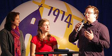 Isabelle Scheich (m) und Tobias Brehm  (Foto: Brehm)