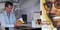 Harald M. Knes stellt eine Biographie von Mario Hiriart vor (Foto: Fella)