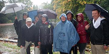 Trotz Dauerregen nur frohe Stimmung (Foto: Fella)