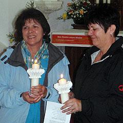 Zufrieden nach dem Liebesbündnis: D. Allig und A. Emmerich (rechts) (Foto: Fella)