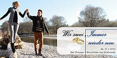 """Ausgabe 11 des Ehepaar-Newsletters """"Wir zwei - Immer wieder neu"""" (Foto: © W. Heiber Fotostudio - Fotolia.com)"""
