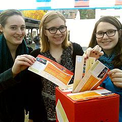 Hoffnungsvolle Teilnehmerinnen (Foto: Debrich)