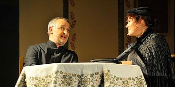 Pfarrer Savels und Katharina Kentenich (Foto: Kröper)