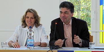 Diana und Dr. Lukas Schreiber, Bonn, Schönstatt-Familienbund (Foto: Hornung)
