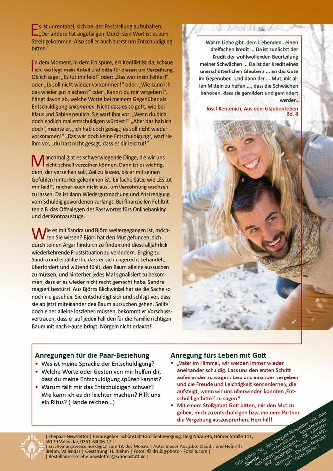 """Ehepaar-Newsletter 12/2013 """"Wir zwei - Immer wieder neu"""" S.2 (Fotos: © drubig-photo - Fotolia.com)"""