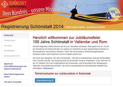 Internetseite registrierung2014.schoenstatt.de