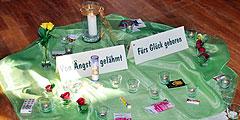 •Thema und Mittegestaltung beim Seminartag (Foto: Lämmle)