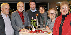 Paare mit 50 Jahren Ehe-Erfahrung … (Foto: Baumann)