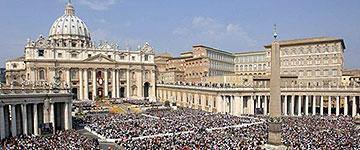 20.000 Brautpaare werden sich am Valentins-Tag auf dem Petersplatz mit Papst Franziskus treffen (Foto: Päpstlicher Rat für die Familie)