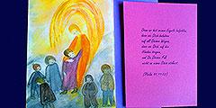 Kartenmotiv (Motiv: Schwester Burgita Findling)