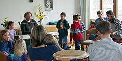 Musikprobe für den Familiengottesdienst (Foto: SAL)
