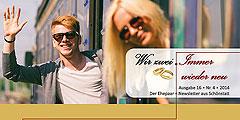 """Ehepaar-Newsletters """"Wir zwei - Immer wieder neu"""" (Foto: © william87 - Fotolia.com)"""