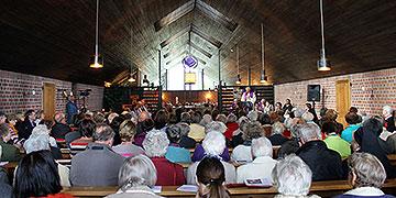 Gottesdienst in der Karmelkirche (Foto: Fischer)