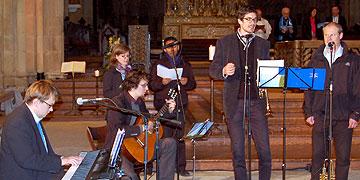 Musikalische Gestaltung unter Leitung von Studenten der Schönstatt-Patres (Foto: Brehm)
