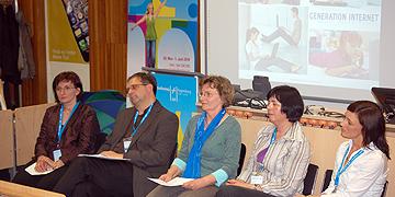 Claudia und Bruno Kulinsky, Maria Wolff, Jitka Crhova, Verena Böhm (v.l., Foto: Brehm)