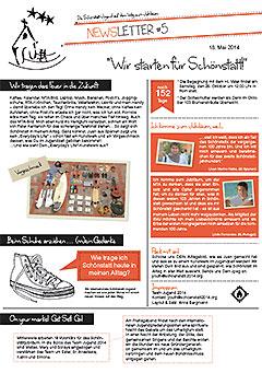 """Newsletter """"Wir starten für Schönstatt"""" (Foto: TeamYouth2014)"""