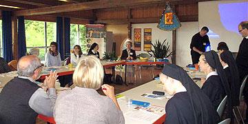 Arbeitsrunde beim Vorbereitungstreffen in Kösching (Foto: privat)