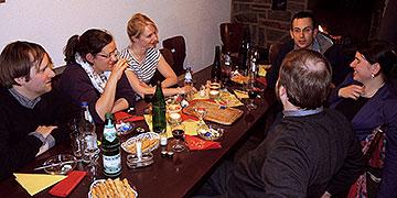 Die Feier der Osternacht geht weiter (Foto: Denkinger)