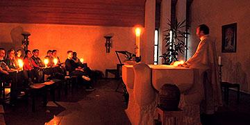Liturgie der Osternacht (Foto: Denkinger)