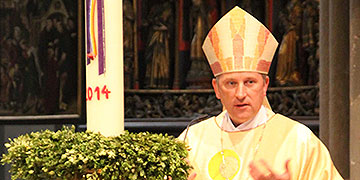 """Theising: """"dass wir uns ziehen lassen durch Christus"""" (Foto: Meyer)"""