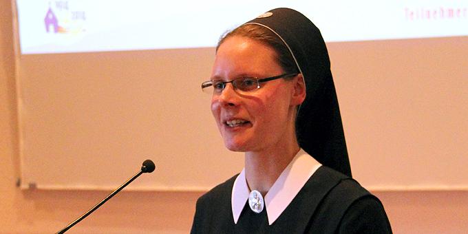 Schwester Kerstin-Maria Möhlich (Foto: C.Mann)
