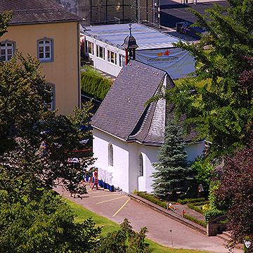 Die Michaelskapelle im Tal Schönstatt wurde zum Gründungsort der Schönstatt-Bewegung (Foto: Brehm)