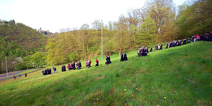 Vorher: Pilgerarena im Frühjahr 2014 (Foto: Brehm)