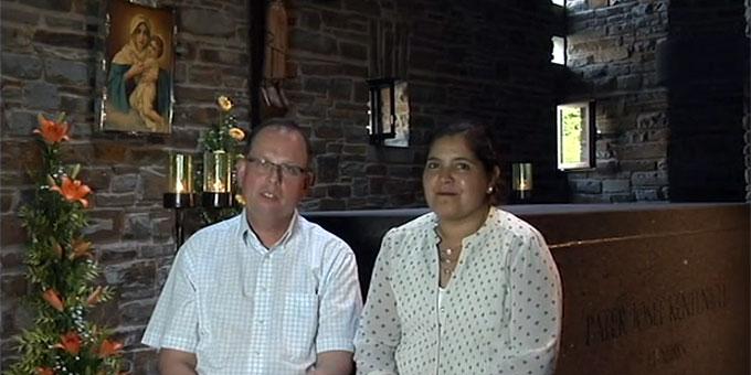 Paula Inda und Manfred Kammann (Foto: SICT)