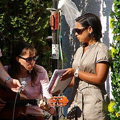 Francisca und Maria Elena (Foto: Neiser)