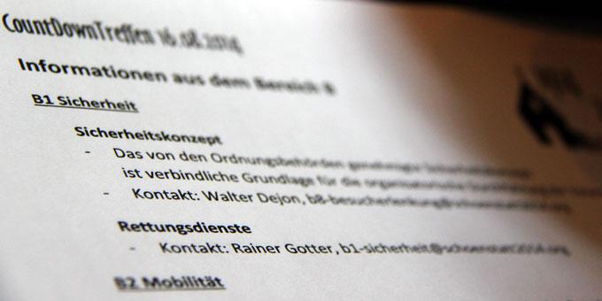 CountDownTreffen (Foto: SICT)