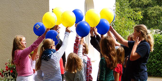 Fröhlicher Jubiläumstag in der Borkener Schönstatt-Au (Foto: Hechinger)