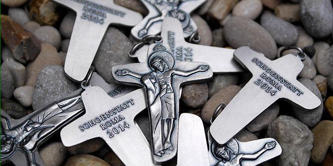 Das Sendungskreuz: Kreuz der Einheit (Foto: SICT)